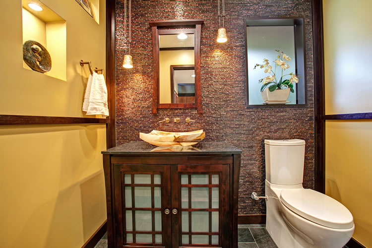 Asian Design Creates Soothing Bathrooms Coastal Real Estate Guide