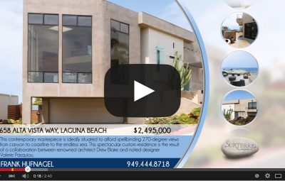 658 ALTA VISTA WAY, LAGUNA BEACH 92651