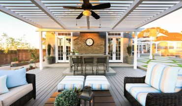 The reworked yard of a Long Beach home previously dominated by a swimming pool.