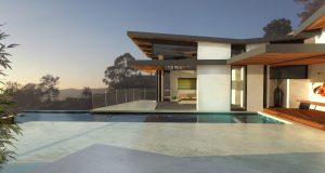 Anders Lasater recently won an industry award for his design of this Laguna Beach home.