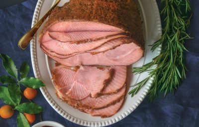 Spiral sliced ham is an effortless party entree.