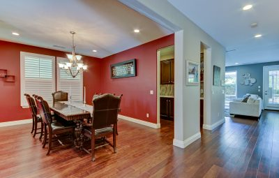 How a wide angle lens can make rooms appear larger to prospective buyers.