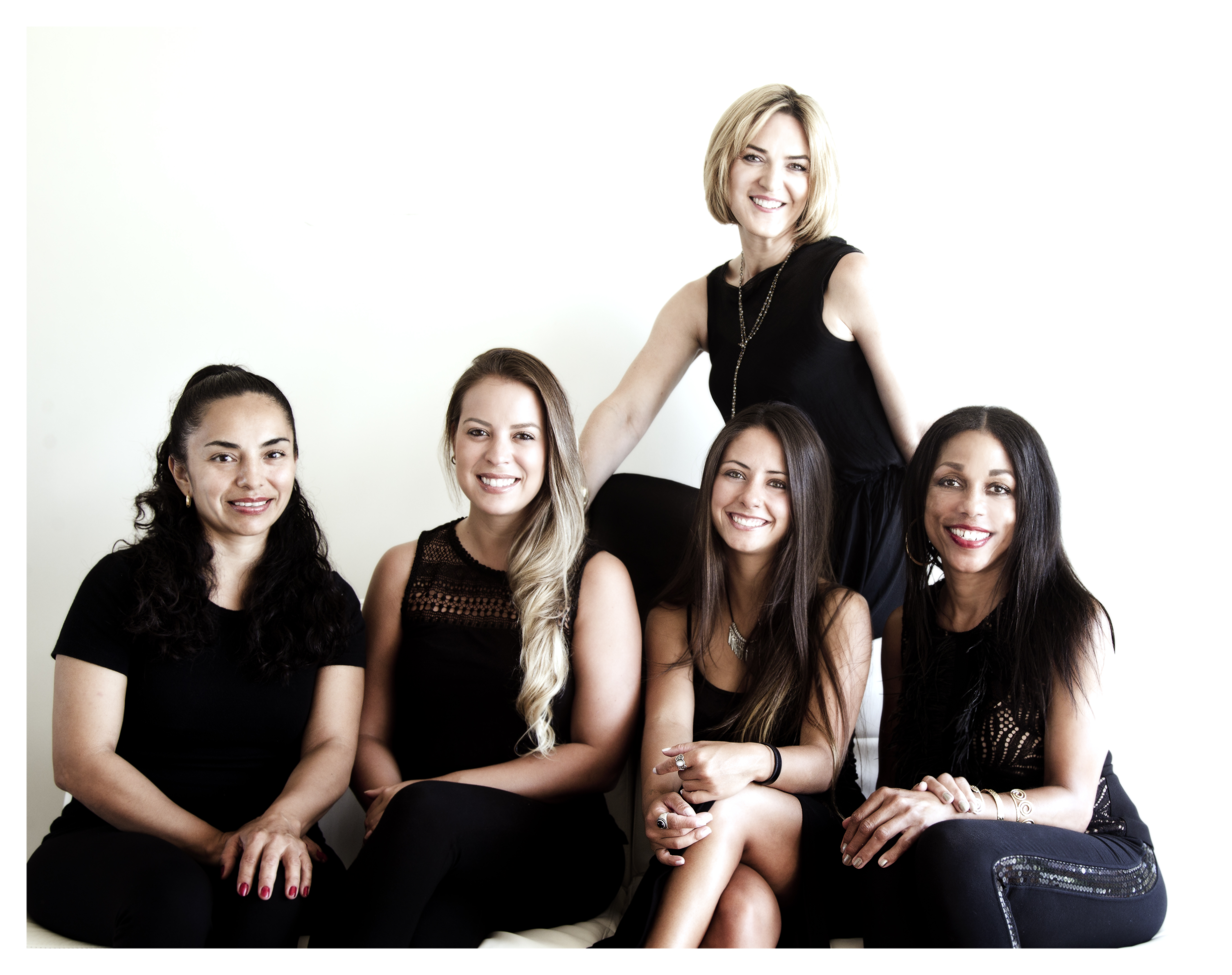 Eden McCracken, far right, with her team of lead home stylists, from left, Veronica, Mariana, Isabelle, and Sheri.