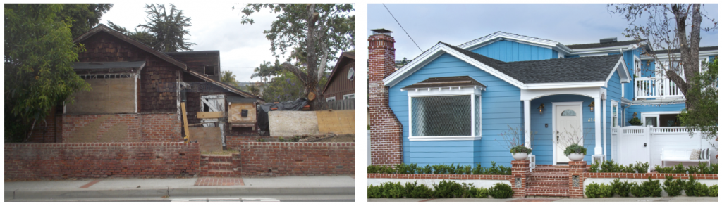 From condemned property eyesore to beautiful Laguna living, this Glenneyre rebuild has added value to the neighborhood.