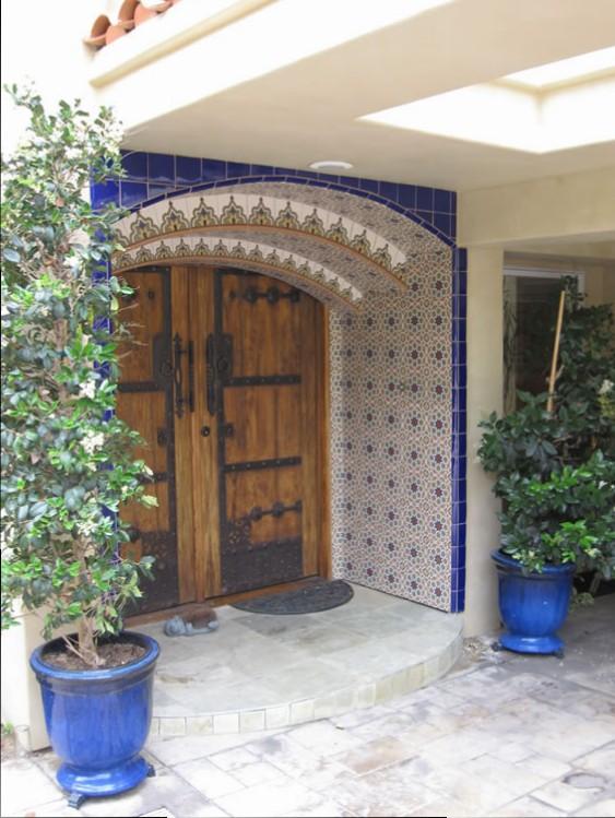 Entryway mosaic