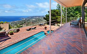 Another listing offers ocean views from the living room deck.