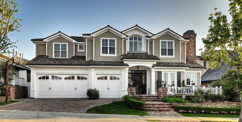 Harbor View homes come in a mix of traditional styles.
